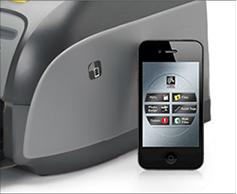 Передача данных с помощью NFC в принтере Zebra Series 1
