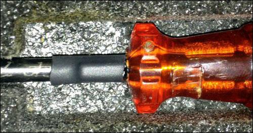 Инструмент с RFID меткой