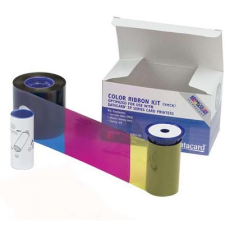 534000-002 Datacard лента для полноцветной печати YMCKT (к-во на 250 карт)