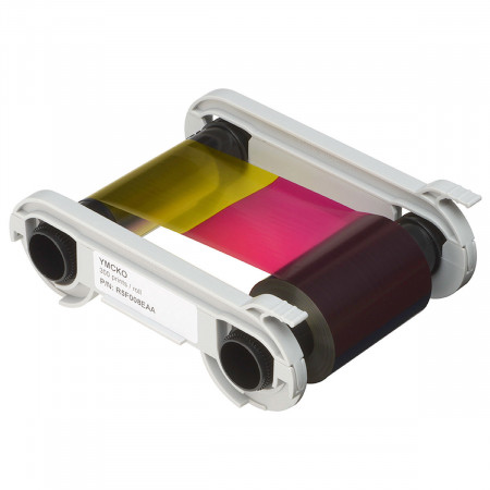 R5F008EAA Evolis ленты для полноцветной печати YMCKO (к-во на 300 карт)