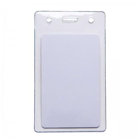 Бейдж силиконовый BPL-03 для смарт-карт (вертикальный, уплотненный крепкий силикон)