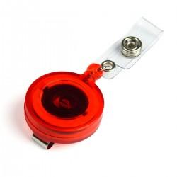 Ретрактор для бейджа RE-019 прозрачный