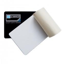 Самоклейка (стик-карта) SMK на смарт-карту с печатью