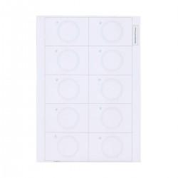 Инлей с чипом EM-Marine (Inlay EM-Marine) A4 (10 карт)