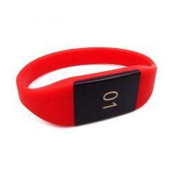 Силиконовый браслет Ardix C264 Fudan 1K с нумерацией