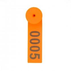 Ушная бирка для идентификации животных 98*28 мм
