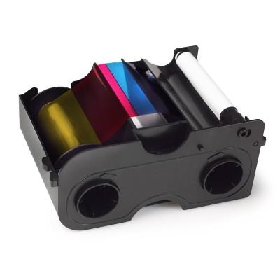 45000 Полноцветная лента YMCKO на 250 отпечатков с черной панелью Fargo