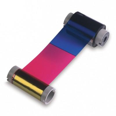 45451 Полноцветная лента YMCKO на 100 отпечатков Fargo C50