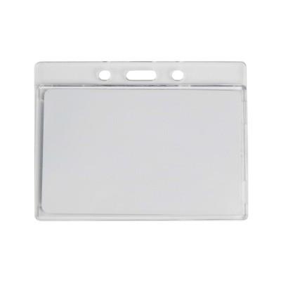 Пластиковый бейдж GOR-05 для карт горизонтальный (прозрачный)