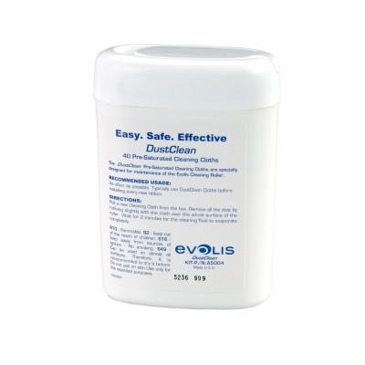 A5004 Evolis Комплект чистящих салфеток (40 шт.)