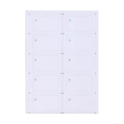 Инлей с чипом Mifare Ultralight EV1 (Inlay Ultralight) A4 (10 карт)