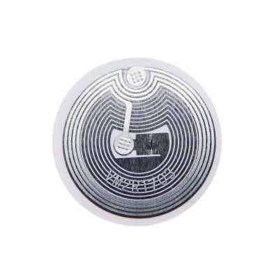 RFID метка Fudan 1K (бумажная, клейкая, 25 мм)