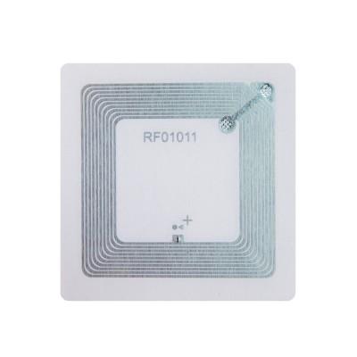 RFID метка Fudan 1K (водостойкая ПВХ, клейкая, 50 мм)