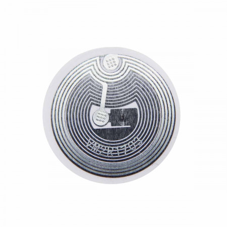 RFID мітка S50 Mifare 1k (паперова, клейка, 25 мм)