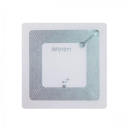 NFC метка Fudan 1k квадратная (водостойкая ПВХ поверхность, клейкая) 50x50 мм