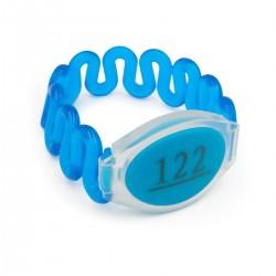 Пластиковий ABS браслет Ardix з чипом Fudan 1K (NFC) з номером