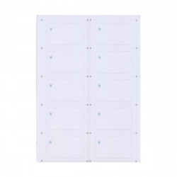 Інлей з чипом Fudan 1K (Inlay Fudan 1K) A4 (10 карт)