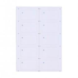 Інлей з чипом Mifare Plus 2K X (Inlay Mifare Plus 2K X) A4 (10 карт)