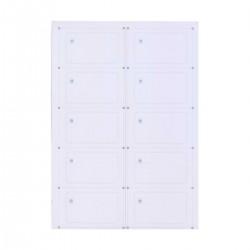 Інлей з чипом Mifare 1K (S50) A4 (10 карт)