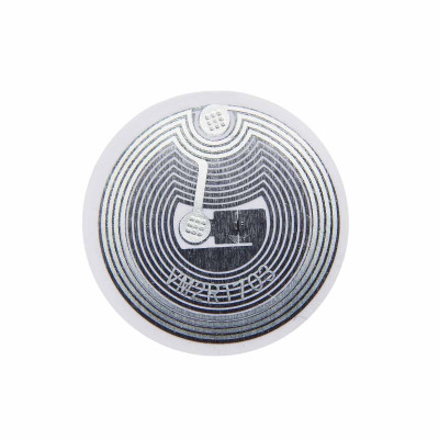 RFID мітка Fudan 1K (паперова, клейка, 25 мм)